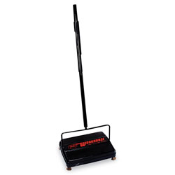 "Franklin Workhorse Carpet Sweeper, 46"", Black"