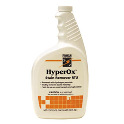 Franklin Cleaning Technology HyperOx Ready-to-Use Stain Remover, 32 Ounce