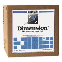 Franklin Cleaning Technology Dimension Floor Finish, Cube