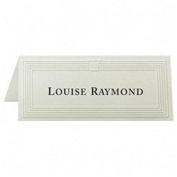 "First-Base Place Cards, 6 Per Page, Fold to 1 13/16""x4 1/4"", 1500/Pack, Ivory"