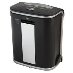 GBC® ShredMaster GSM128 Light-Duty Micro-Cut Shredder, Charcoal/Black