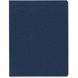 GBC® Designer Premium Plus Presentation Backs, 11 1/4 x 8 3/4, Navy Blue, 25/Pack