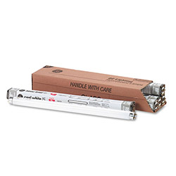 "GE Fluorescent Tubes, 18"", 15 Watts, 6 Tubes per Pack"