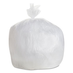 "General Liners High Density Clear Flat-Bottom Trash Bags, 10 Micron, 30"" X 36"", Case of 500"
