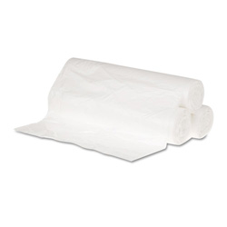 "General Liners High Density Clear Flat-Bottom Trash Bags, 12 Micron, 43"" X 46"", Case of 200"