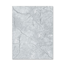Geographics Marble Gray Design Letterhead Paper, 8 1/2 x 11, 24 lb. Bond, 100 Sheets/Pack