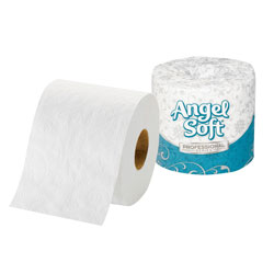 Angel Soft Premium 2-Ply Bulk Bathroom Tissue, White