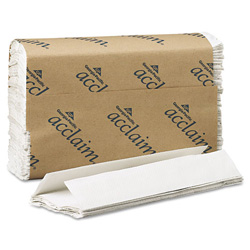 Acclaim C-Fold Paper Towels, 10 1/4 x 13 1/4, White, 240/Pack, 10 Packs/Carton