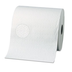 Georgia Pacific Signature® Two-Ply Nonperforated Paper Towel Rolls, 7 7/8 x 350ft, White, 12 Rolls/Carton