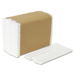 Acclaim 33201 HYNAP White Tall Fold Dispenser Napkins