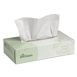 Georgia Pacific 47410 Two Ply White Facial Tissue