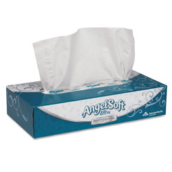 Angel Soft Ultra Premium 2-Ply Facial Tissue, Case of 30