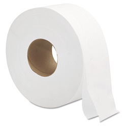 "General Bulk Bathroom Tissue, 2 Ply, 9"", 12 per Case"
