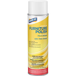 Genuine Joe Furniture Polish, Removes Dirt/Smudges, 19 oz., Lemon Scent