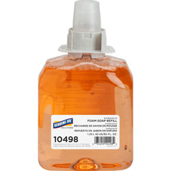 Genuine Joe Antibacterial Orange Blossom Soap Dispenser Refill, 1250 mL