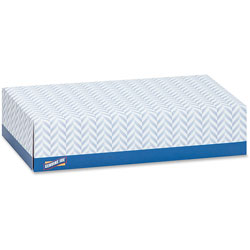 Genuine Joe White 2-Ply Facial Tissue, Case of 30 Boxes