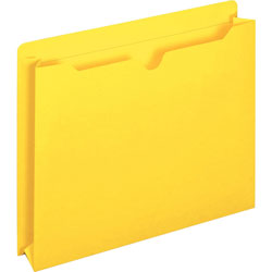 TOPS File Jacket, Two Inch Expansion, Letter, Yellow, 50/Box