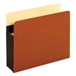 Pendaflex Heavy-Duty File Pockets, Straight Cut, 1 Pocket, Letter, Redrope