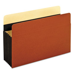 Pendaflex Heavy-Duty File Pockets, Straight Cut, 1 Pocket, Legal, Redrope