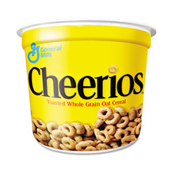 Cheerios® Breakfast Cereal, 1.3 oz Serving Size Cups, 6/Box