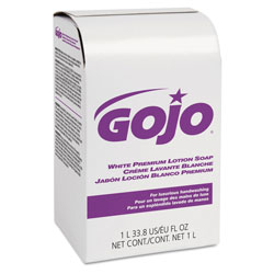 Gojo NXT® White Premium Lotion Soap Dispenser Refill, 1000 mL