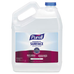 Purell Foodservice Surface Sanitizer, Fragrance Free, 1 gal Bottle