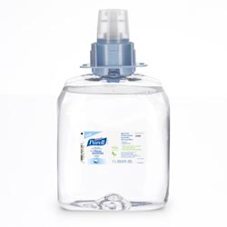 Purell Instant Hand Sanitizer Nourishing Foam, Green Certified, 1000mL Refill, 3/Carton