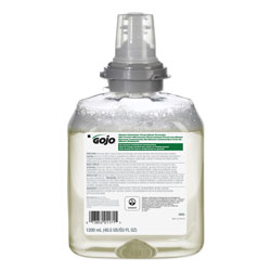 Gojo TFX Green Certified Foam Hand Cleaner Refill, Unscented, 1200mL