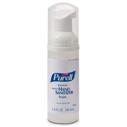 Purell Advanced Non-Aerosol Foaming Hand Sanitizer, w/Moisturizers, 1.5oz Pump Bottle