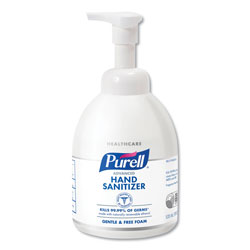 Purell Green Certified Instant Hand Sanitizer Foam, 535 ml Bottle, 4/CT