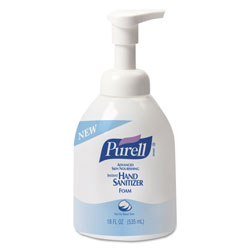 Purell Instant Hand Sanitizer Skin Nourishing Foam, 535mL Bottle, 4/Carton