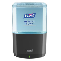 "Purell ES6 Soap Touch-Free Dispenser, 1200mL, 5.25"" x 8.56"" x 12.13"", Graphite"