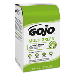 Gojo MULTI GREEN Hand Cleaner 800mL Bag-in-Box Dispenser Refill