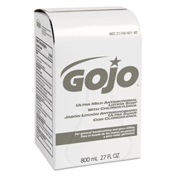 Gojo Antibacterial Moisturizing Soap Dispenser Refill, 800 mL