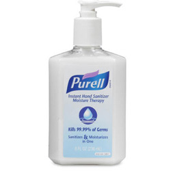 Purell Moisture Therapy Instant Hand Sanitizer, 8 Oz, Case of 12