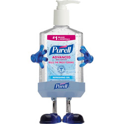 Purell Pal Hand Sanitizer Desktop Dispenser with 8 Oz Pump Bottle