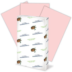 "Hammermill Multipurpose Paper, 20lb., 8-1/2"" x 14"", Pink"