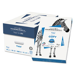 Hammermill Tidal MP Copy Paper, 92 Brightness, 20lb, 11 x 17, White, 500 Sheets/Ream
