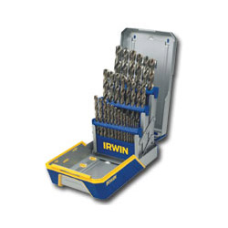 Hanson 29 Piece Drill Bit Industrial Set Cobalt M42