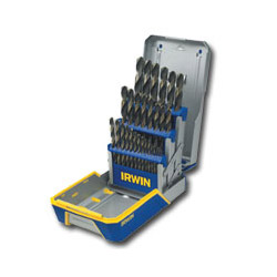 Hanson 29 Piece Drill Bit Set, Black & Gold Oxide
