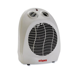 "Heat Runner 33551 Light Gray Portable Heater with Four Settings, 8 3/4"" x 8"" x 12 3/4"""