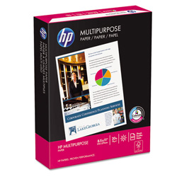 HP Multipurpose Paper, White, 20 lb., 8 1/2 x 11