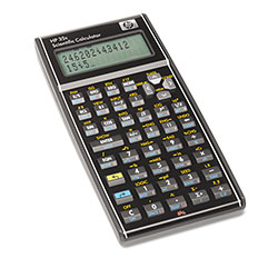 HP 35S Programmable Scientific Calculator (Alg/Rpn) with 32Kb Ram