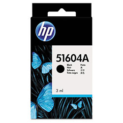 HP 51 Black Ink Cartridge ,Model 51604A ,Page Yield 1000