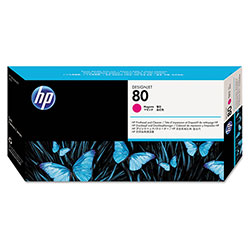 HP 80 Magenta Ink Cartridge ,Model C4822A ,Page Yield 4400
