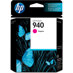 HP 940 Magenta Ink Cartridge ,Model C4904AN ,Page Yield 900