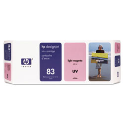 HP 83 Magenta Ink Cartridge ,Model C4945A ,Page Yield 680 ml