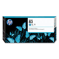 HP 83 Cyan Ink Cartridge ,Model C4961A ,Page Yield 13 ml