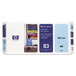 HP 83 Cyan Ink Cartridge ,Model C4964A ,Page Yield 680 ml