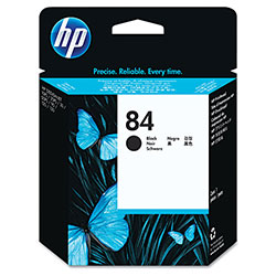 HP C5019A No. 84 Black Printhead, 1,430 Pages